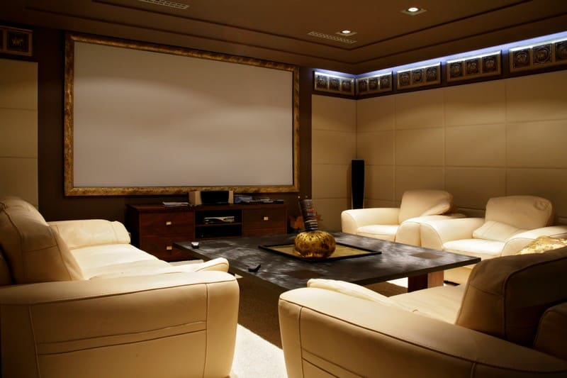 AD Security Systems installers home cinema