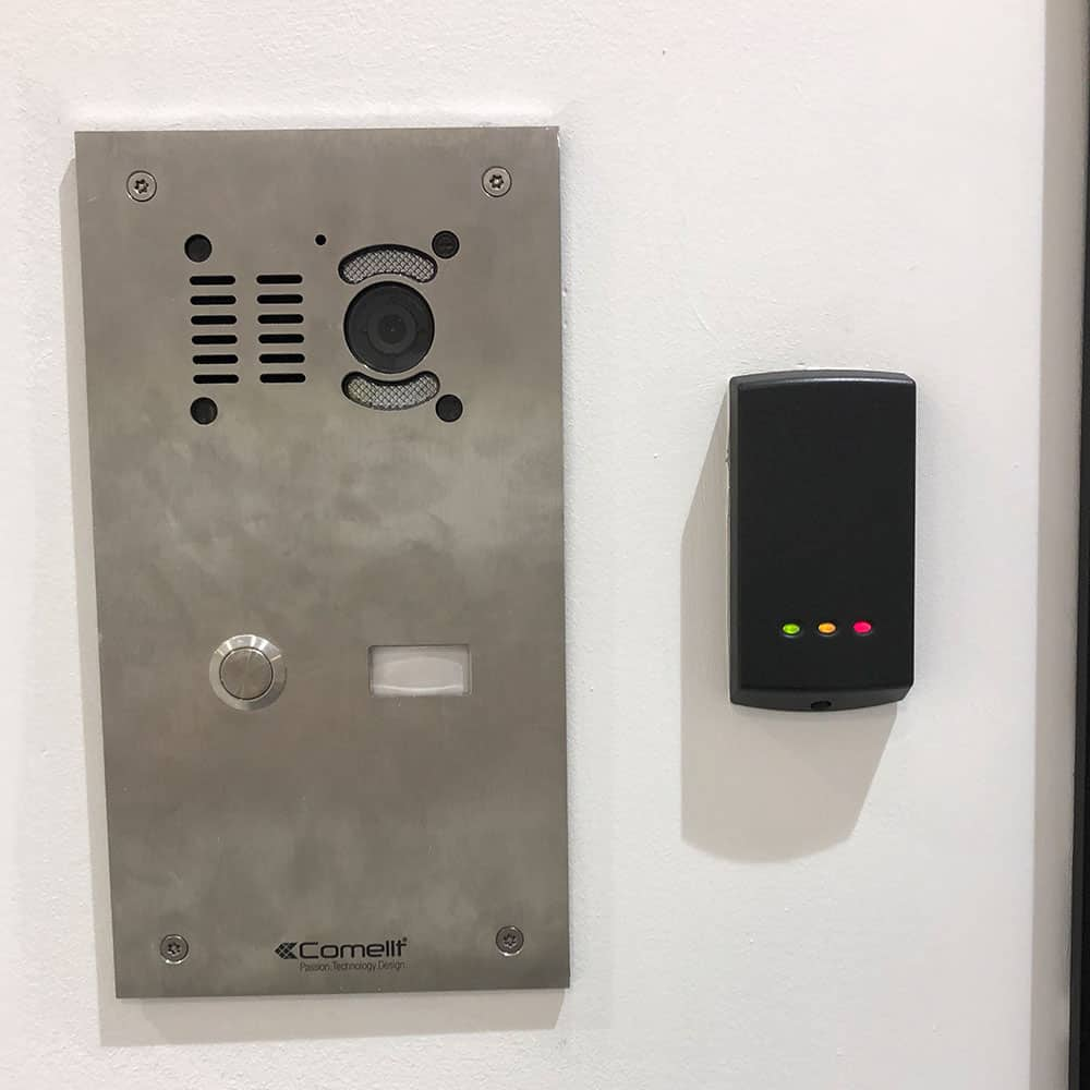 access control with keycard